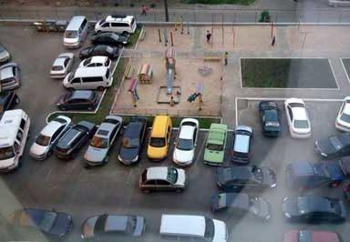 Действующие нормы и правила парковки автомобилей во дворе жилого дома