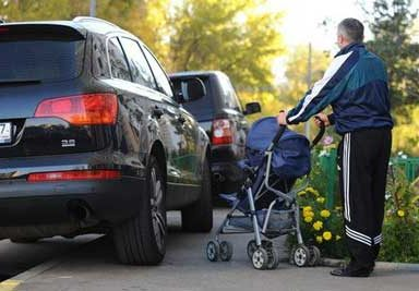 Размер штрафа за нарушение правил остановки и парковки на тротуаре