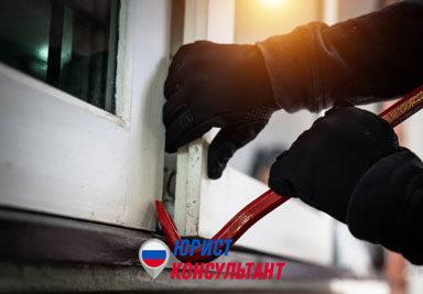 Наказание за кражу со взломом по статье 158 УК РФ